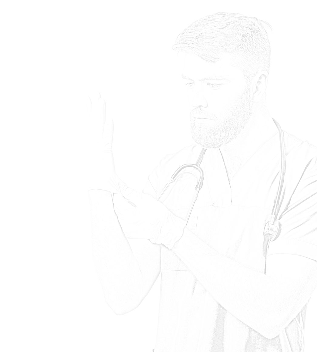 SNI - Male Doctor Drawing
